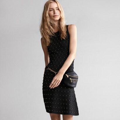 Maxi Shift Midi A Line Dresses Womens Clothing Michael Kors