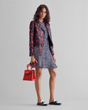 Heart Moto Jacket, Mini Heart Dress, Gramercy Satchel, Annette Slide, Belt
