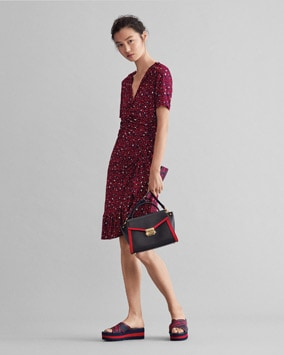 Mini Heart Dress, Whitney Satchel, Demi Sandal